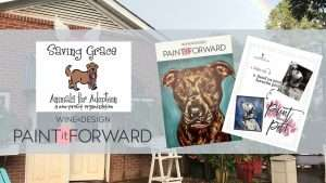 Paint it Forward with Saving Grace! @ Wine and Design | Raleigh | North Carolina | United States
